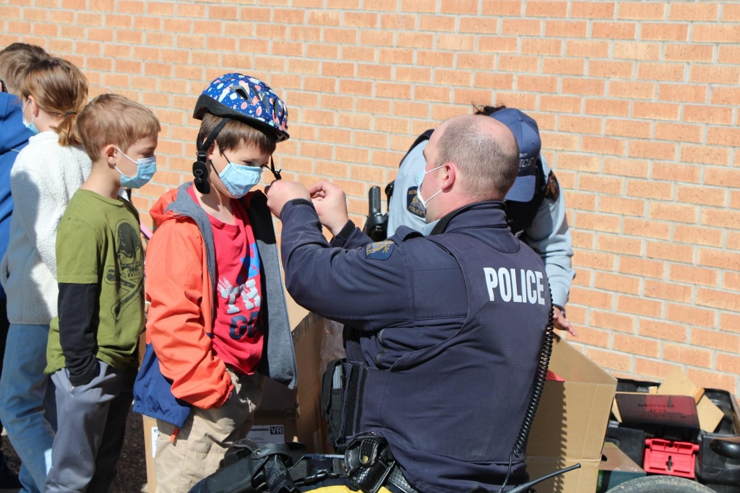 Kinsmen Support Bicycle Rodeo