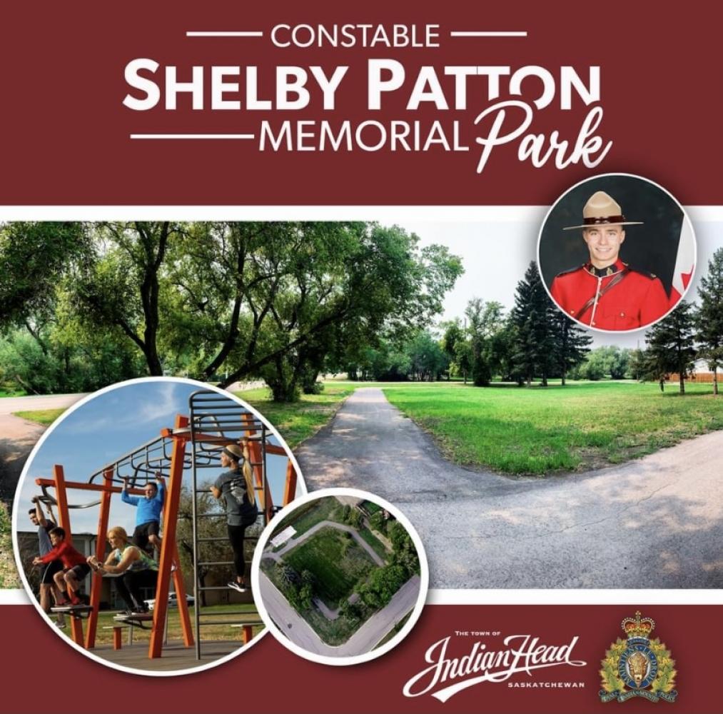 Kinsmen Support Cst. Shelby Patton Memorial Park
