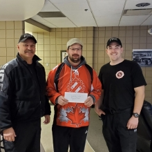 Yorkton Fire Fighters - $250 - Thank you