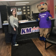 K.M. Auto Care - $250 - Thank you